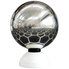 Contemporary Orb Mirror by Connor Holland