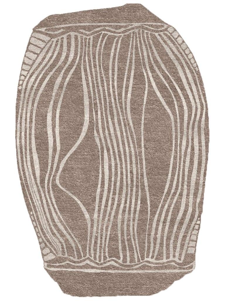 Organic Modern Contemporary Organic Style Indian Rug