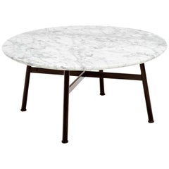 Contemporary Outdoor Marble Coffee Table