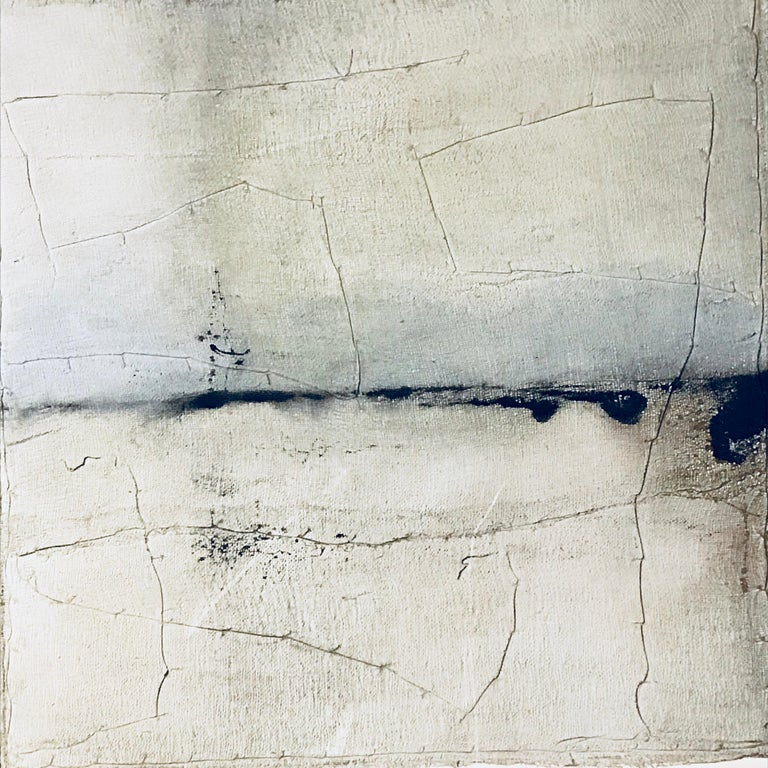 Contemporary abstract painting by Belgian artist Diane Petry.