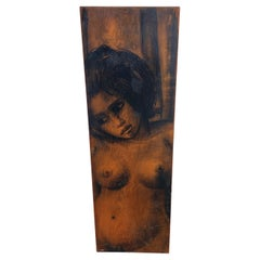 Contemporary Painting of Nude Lady by Unknown Philadelphia Artist