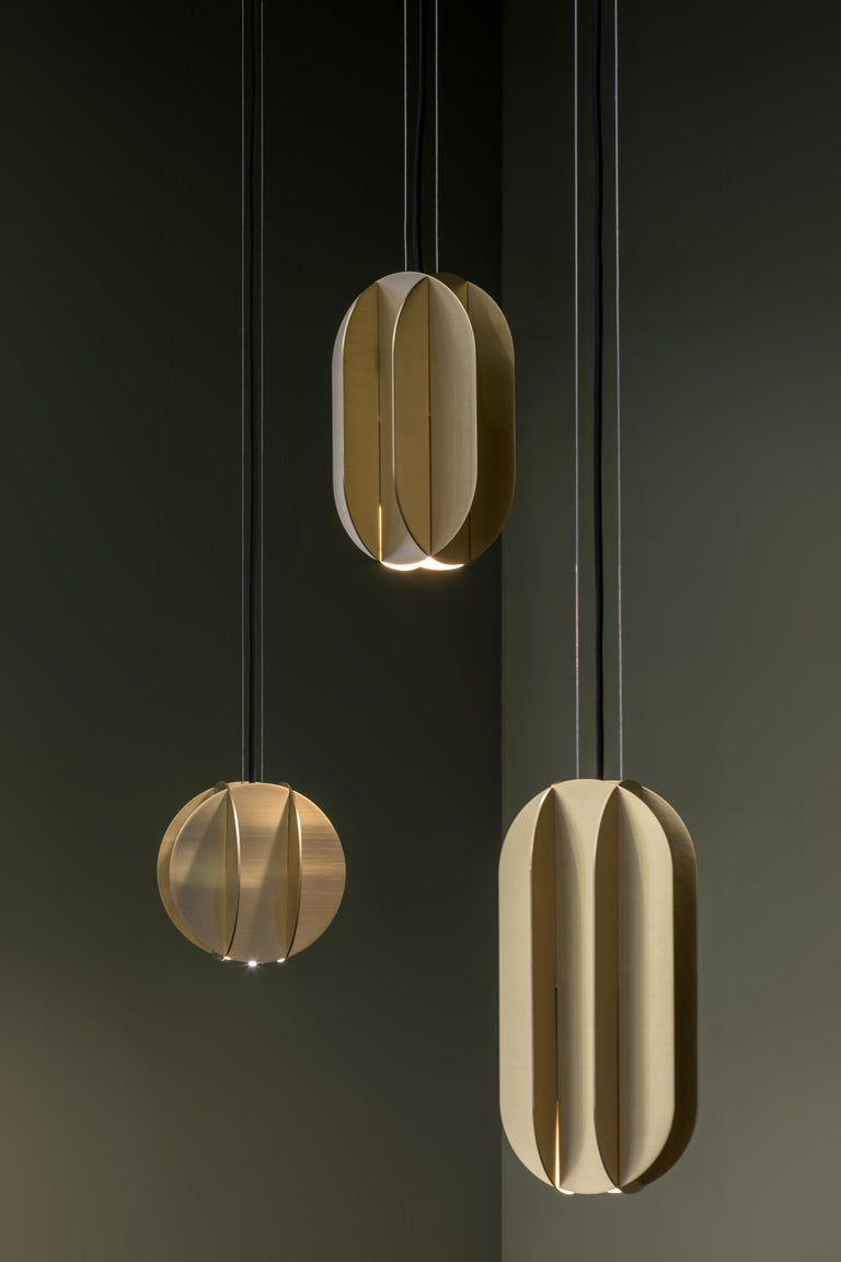 EL collection of lighting is inspired by the geometric works of the great Suprematist artists El Lissitzky and Kazimir Malevich. Suprematism is a modernist movement in the art of the early 20th century, focused on the basic geometric forms, such as