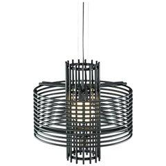 Contemporary Pendant Lamp 'Nova' by AGO 'Black'