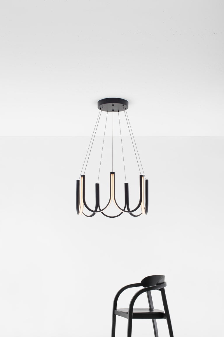 Contemporary Pendant Lamp 'U7' Black In New Condition For Sale In Paris, FR