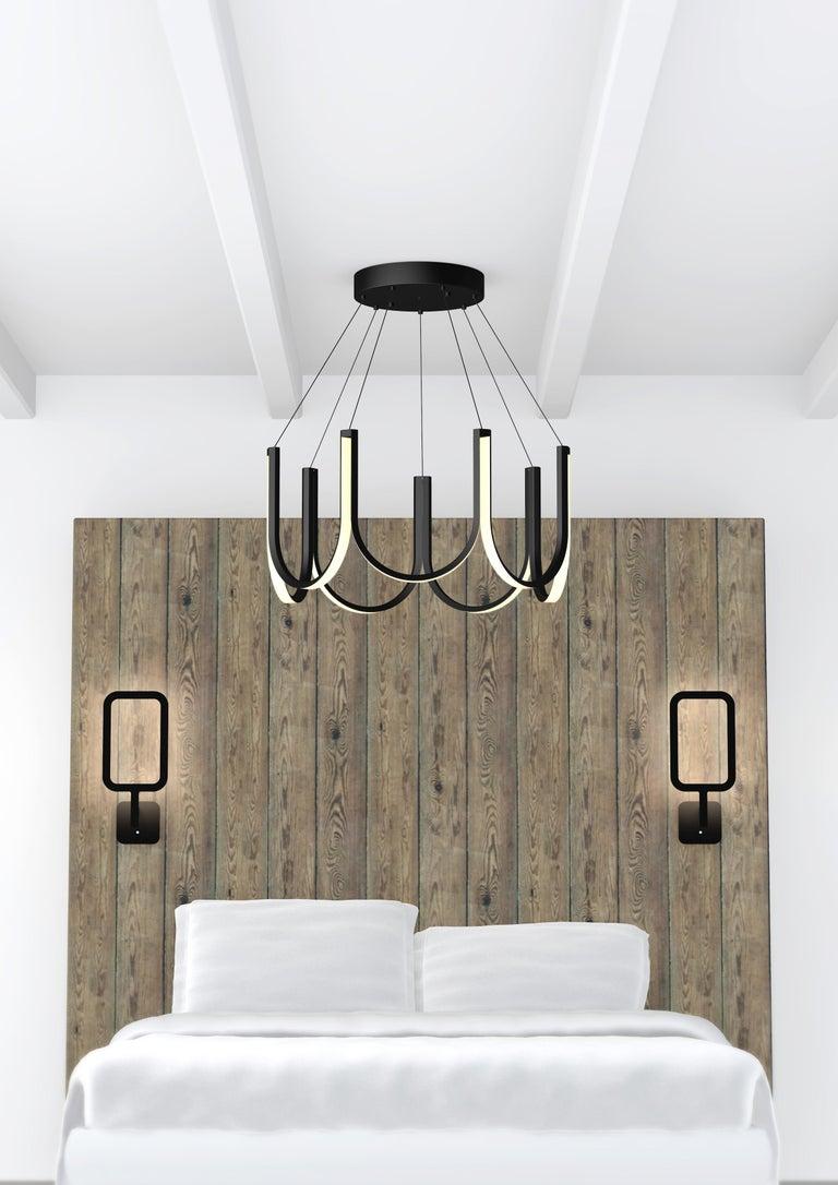 Contemporary Pendant Lamp 'U7' Black For Sale 1