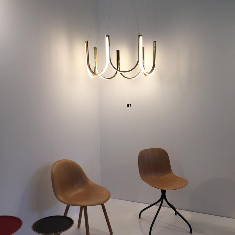 Contemporary Pendant Lamp 'U7' Brass In New Condition For Sale In Paris, FR