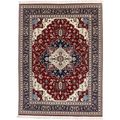 Contemporary Persian Style Rug with Traditional Design