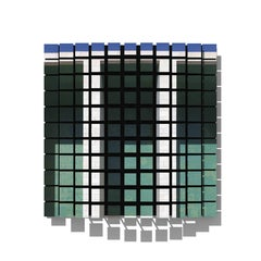 Contemporary Photography Relief or Wall Sculpture, Michel Figuet, Azulejos, 2017