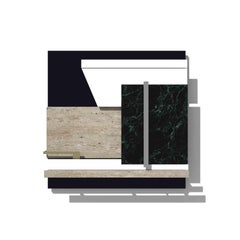 Contemporary Photography Relief or Wall Sculpture , Mies, 2017