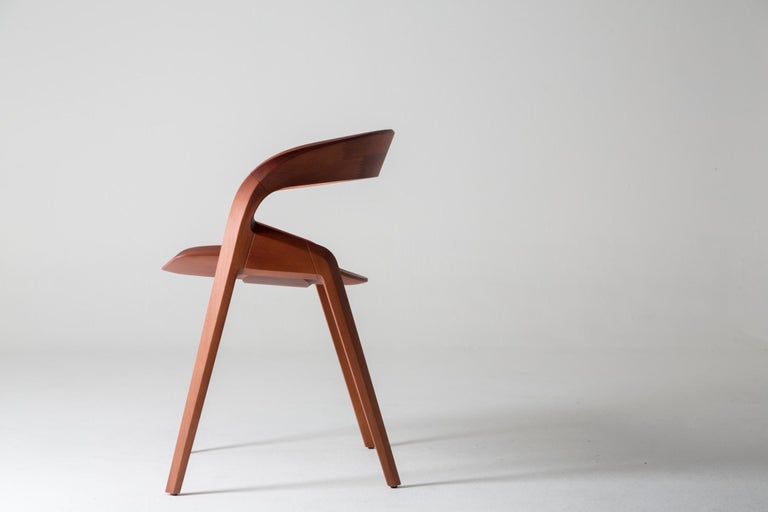 Contemporary Pris Chair in Jequitibá Wood by Guto Indio da Costa, Brazil  The Jequitibá wood Pris chair is part of the collection