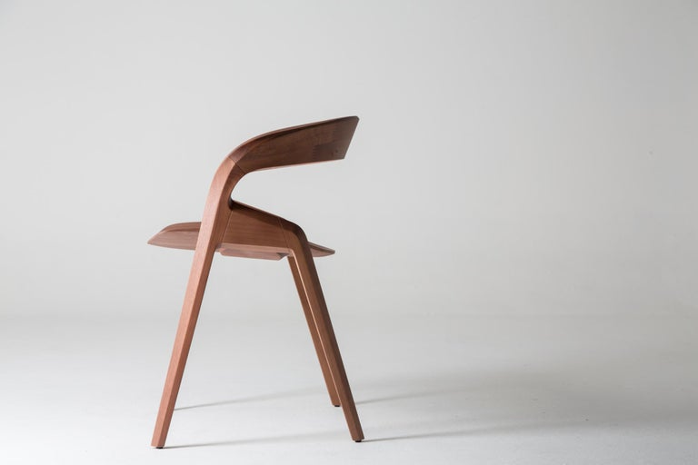 Post-Modern Contemporary Pris Chair in Jequitibá Wood by Guto Indio da Costa, Brazil For Sale