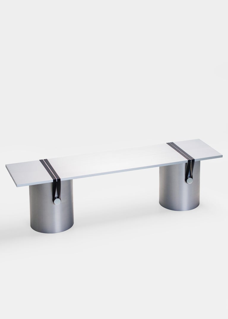 Dutch Contemporary 'RB03' Bench or Table in Anodized Aluminium For Sale