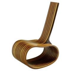 """Contemporary Rocking Chair """"Feijão"""" Bean by Rodrigo Simão, Limited Edition"""