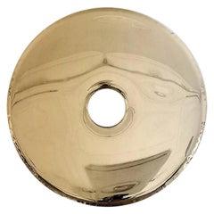 Contemporary 'Rondo 120' Mirror, Flamed Gold, by Zieta
