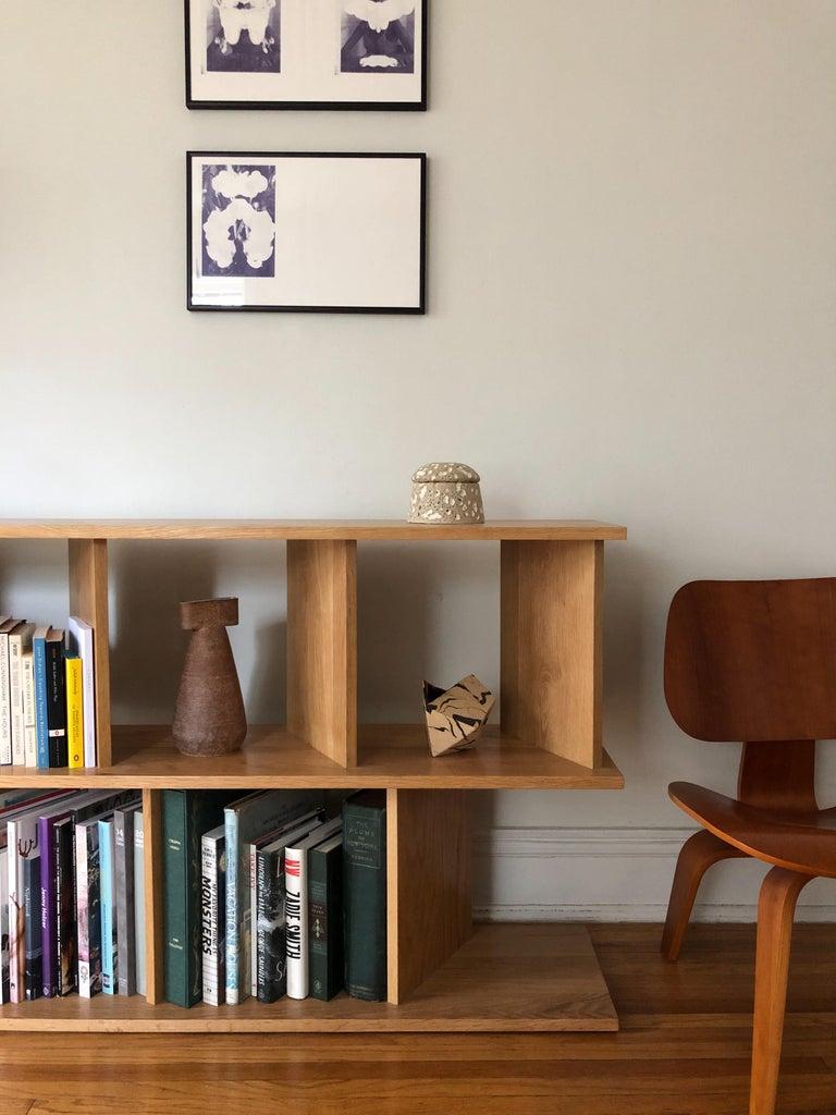 North American Contemporary Room Divider Shelving