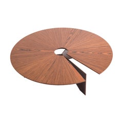 Contemporary Round Coffee SS Table by Decarvalho Atelier