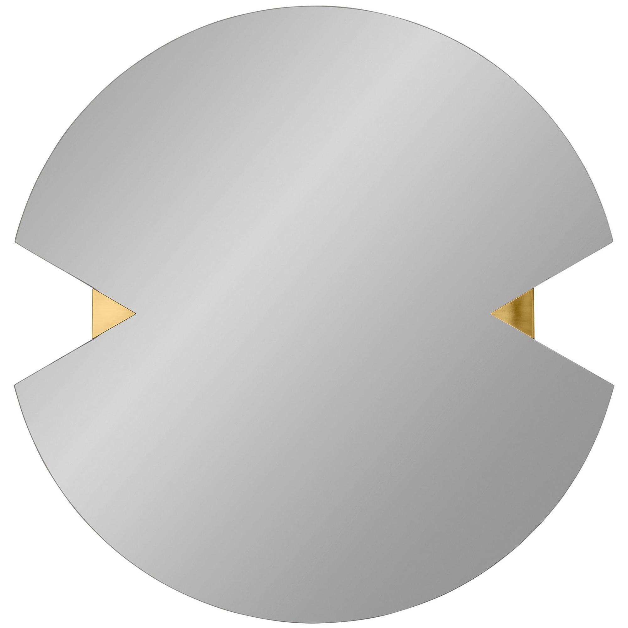 Contemporary Round Mirror