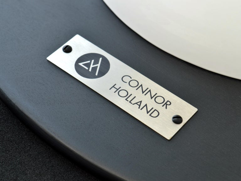 Contemporary Saturn Table by Connor Holland in Powder-Coated Steel For Sale 3