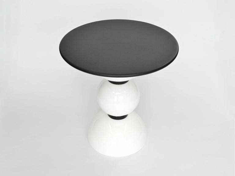Space Age Contemporary Saturn Table by Connor Holland in Powder-Coated Steel For Sale