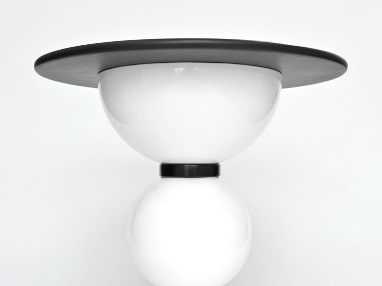 British Contemporary Saturn Table by Connor Holland in Powder-Coated Steel For Sale