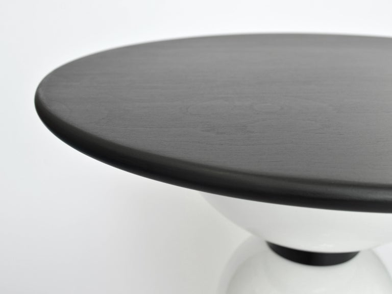 Contemporary Saturn Table by Connor Holland in Powder-Coated Steel In New Condition For Sale In Icklesham, EMEA - British Isles