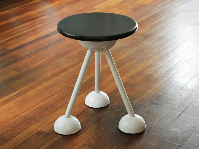 Contemporary Saturn Tripod Table by Connor Holland in Powder-Coated Steel In New Condition For Sale In Icklesham, EMEA - British Isles