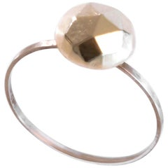Contemporary Scandinavian Heidi Sand 14 Karat Gold Ring