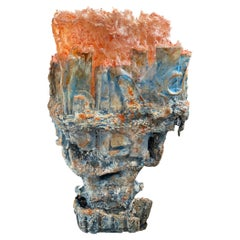 """Contemporary Sculptural Lamp """"LG 1-65-0"""" by Kerstin Amend-Pohlig Fine Stone"""