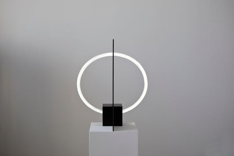 Dutch Contemporary Sculptural Lamp and Mirror 'Elusive 01' For Sale
