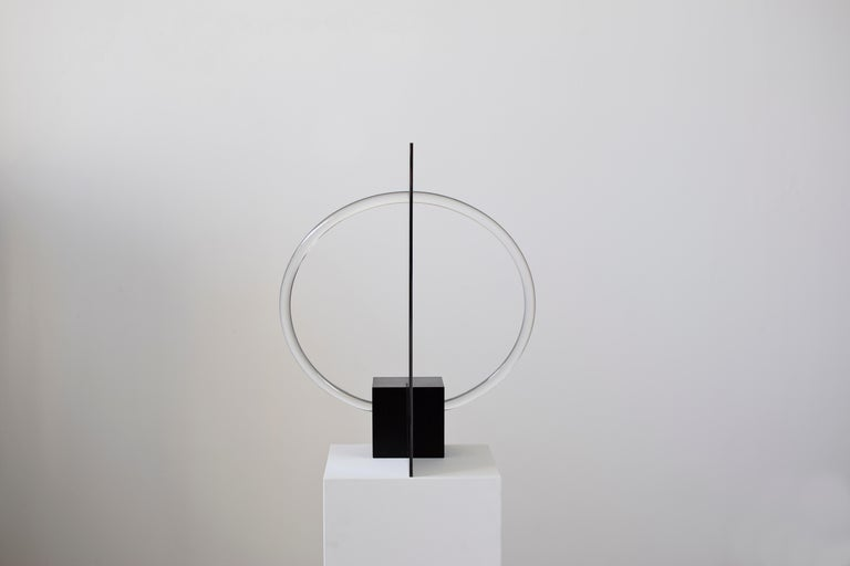 Contemporary Sculptural Lamp and Mirror 'Elusive 01' In New Condition For Sale In Paris, FR