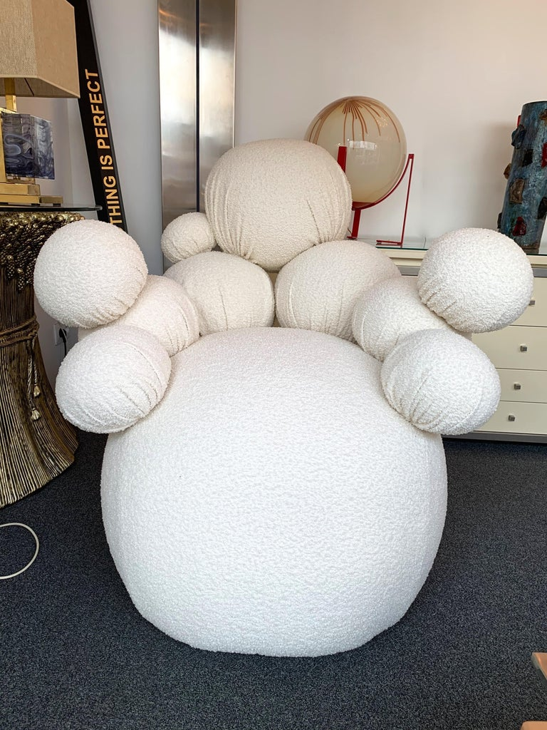 Contemporary Sculpture Armchair Atomo by Antonio Cagianelli, Italy In New Condition For Sale In SAINT-OUEN, FR