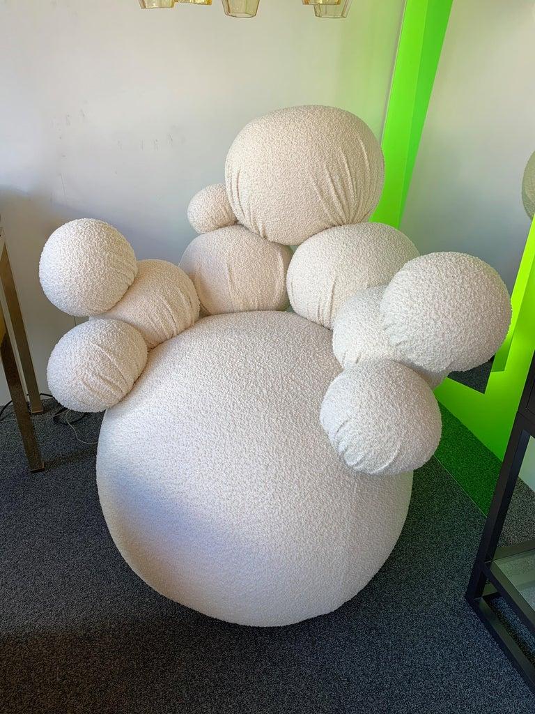 Contemporary Sculpture Armchair Atomo by Antonio Cagianelli, Italy For Sale 2