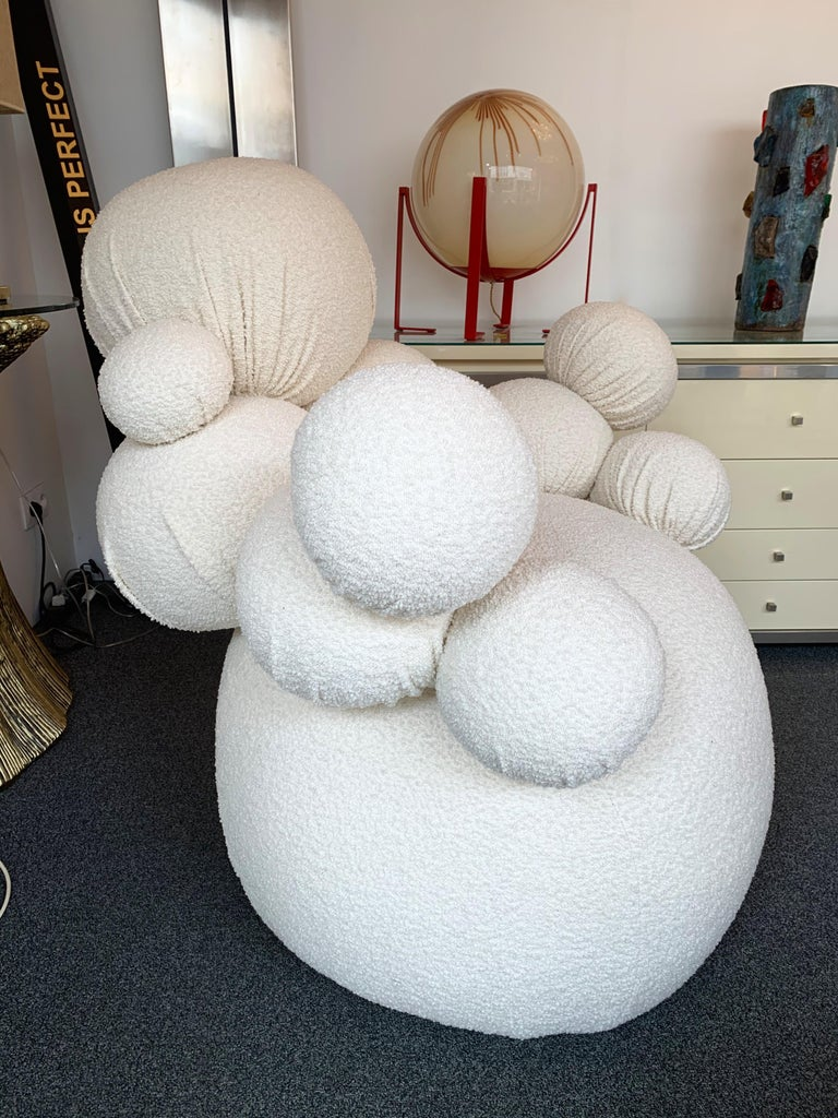 Contemporary Sculpture Armchair Atomo by Antonio Cagianelli, Italy For Sale 3