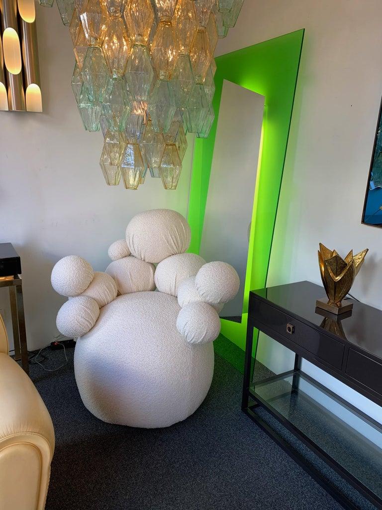 Contemporary Sculpture Armchair Atomo by Antonio Cagianelli, Italy For Sale 4
