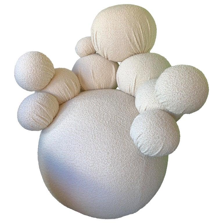 Contemporary Sculpture Armchair Atomo by Antonio Cagianelli, Italy For Sale