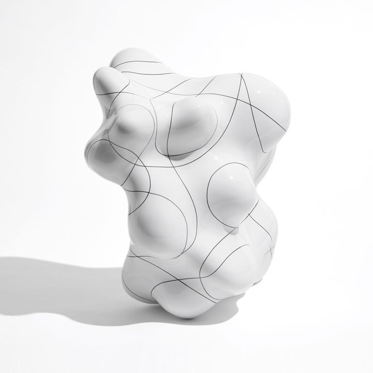 Hand-Crafted Contemporary Sculpture by Steen Ipsen For Sale