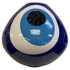 Contemporary Sebastian Bergne Eye Vase Manfctred by Gaia & Gino Table Sculpture