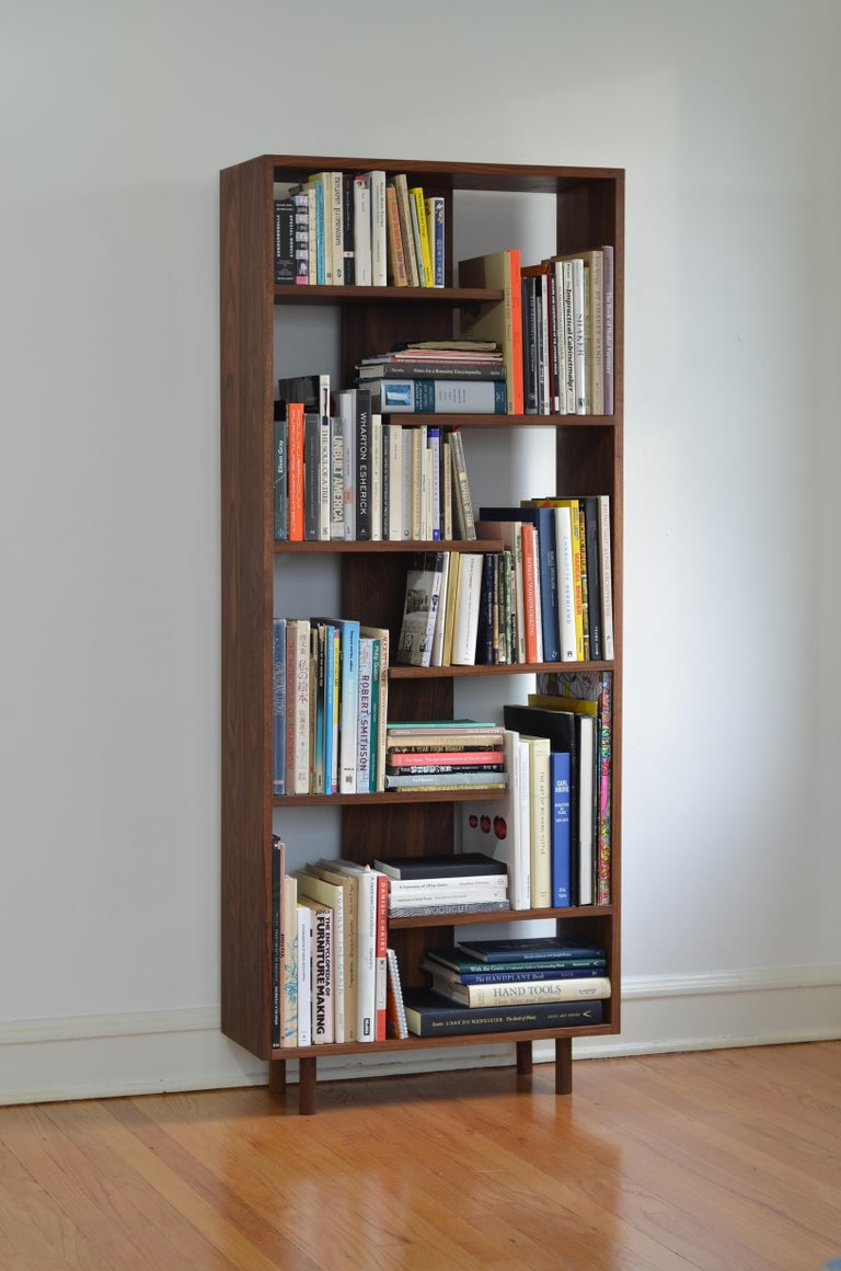 Wood Contemporary Shelving Room Divider