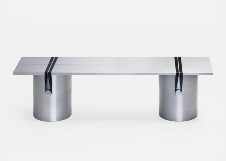 Modern Contemporary Side Table/Bench by Johan Viladrich For Sale