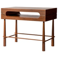 Contemporary Side Table in Brazilian Wood