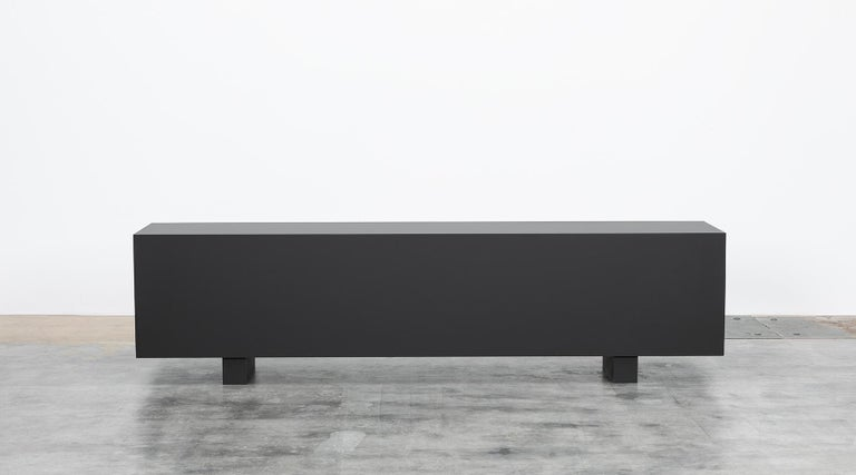 Oak Contemporary Sideboard by Johannes Hock For Sale