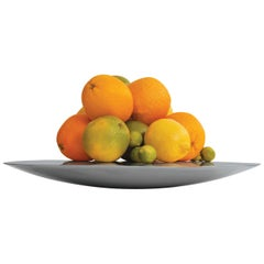 Contemporary Silver Fruit Bowl in Cast Barass