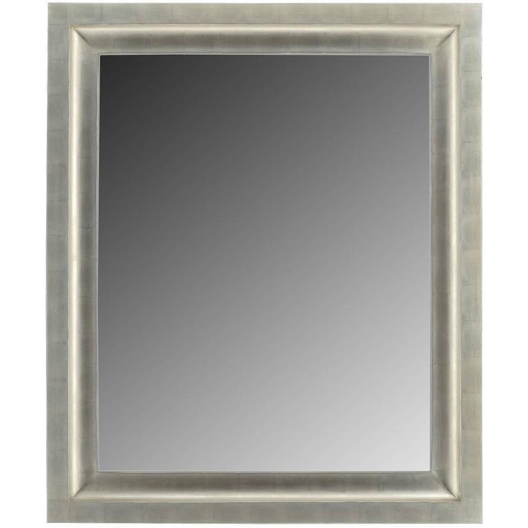 Art Deco Contemporary Silver Gilt Mirror For Sale