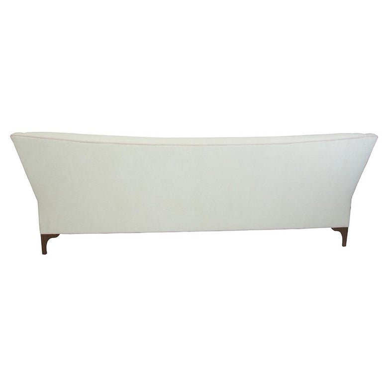 American Contemporary Single Cushion Sofa For Sale
