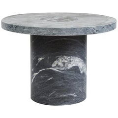 Contemporary Sintra Table Large in Black Marble