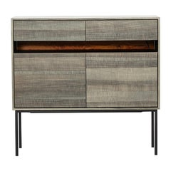 Contemporary Smoked Ash Sideboard by Johannes Hock