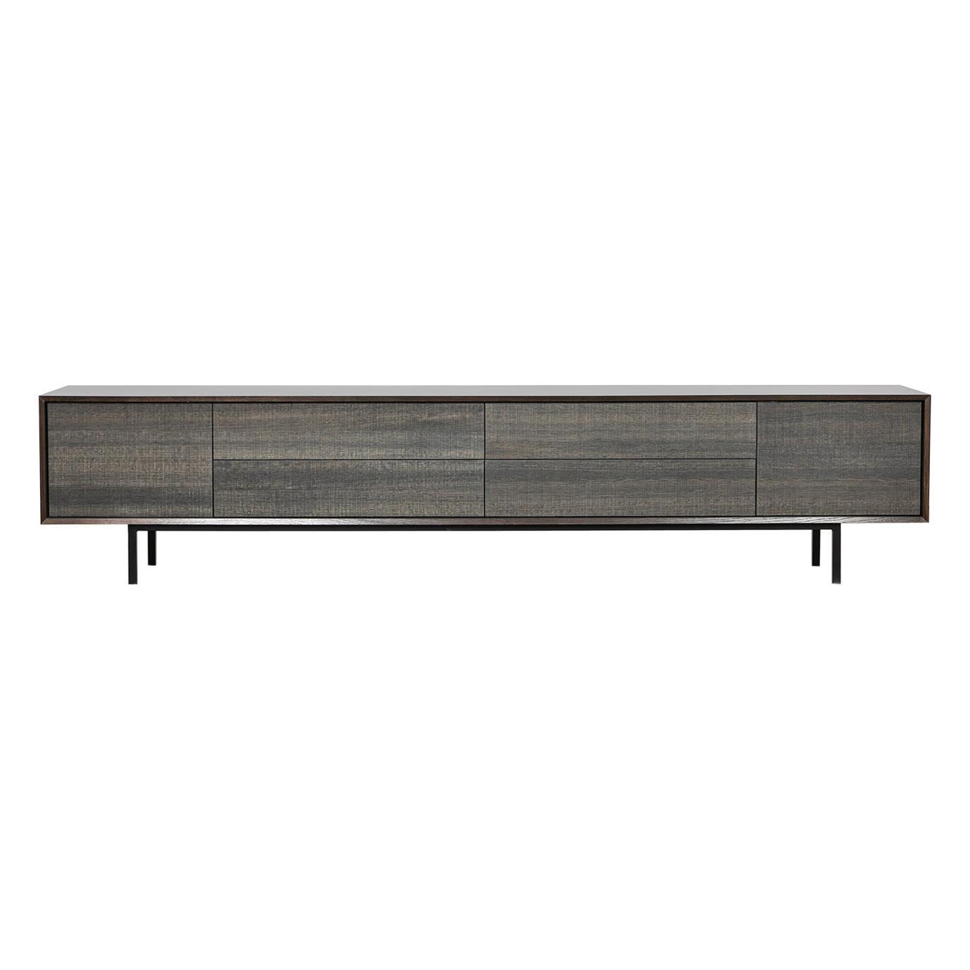 Contemporary Smoked Oak Sideboard by Johannes Hock