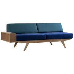 Contemporary Sofa Bed with Removable Cushions