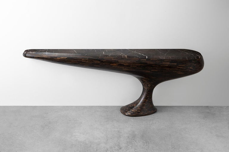 Modern Contemporary STACKED Console Table by Richard Haining, Available Now
