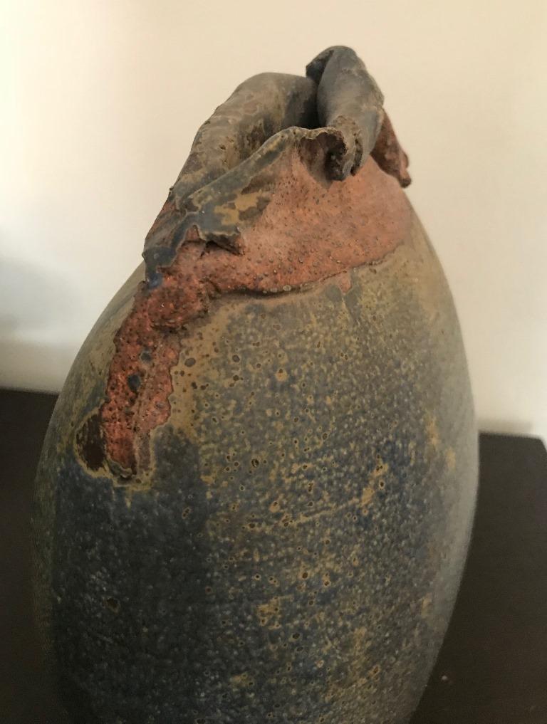 Contemporary Stoneware Vessel Attributed to Adam Silverman For Sale 1